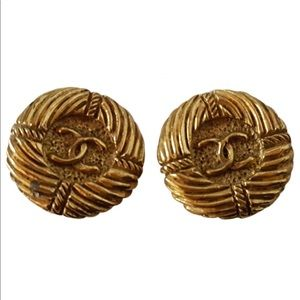 Authentic vintage Chanel earring